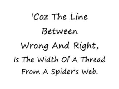Katie Melua - Spider's Web - Lyrics