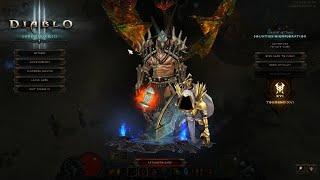 Diablo 3 2.6.8 PTR TEST GR 123(126)+ NEW Frenzy Set Barb!!!