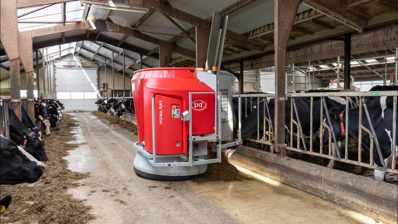 Lely Vector - Mixing up to speed