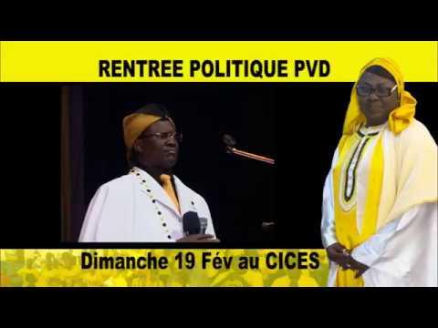 Rentrée politique de la Présidente du PVD Mme Sokhna Dieng Mbacké
