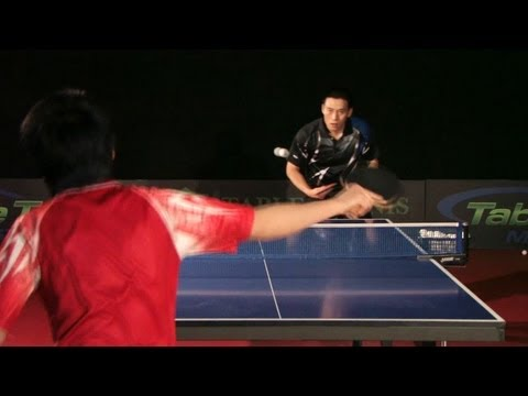 How To Beat Long Pips Players Table Tennis Hd Youtube