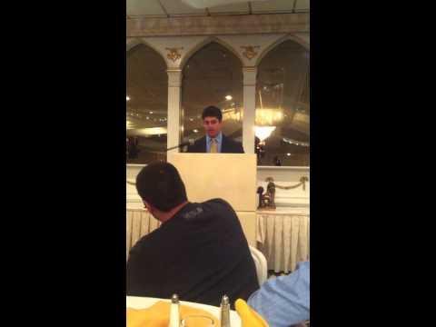 Joe Giaimo 2013 Watchung Hills Football Banquet Speech
