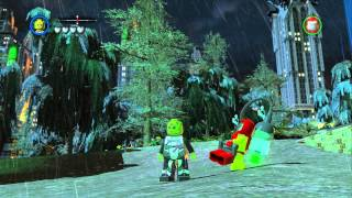 LEGO Batman 2 DC Super Heroes - Unlocking All Villain Characters in Gotham City Central