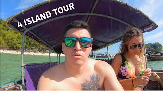 4 ISLAND TOUR AND OUR BOAT BROKE DOWN