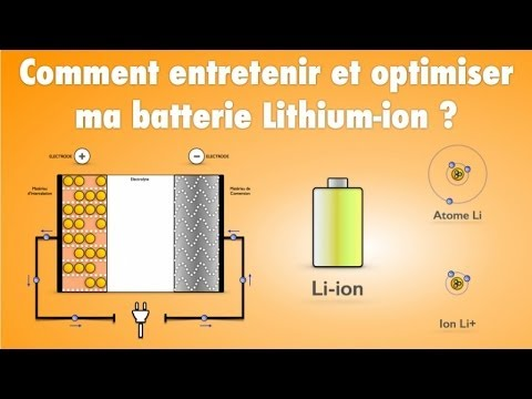 comment entretenir et optimiser ma batterie lithium ion. Black Bedroom Furniture Sets. Home Design Ideas
