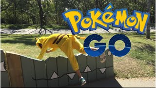 Pokémon Go Meets Parkour