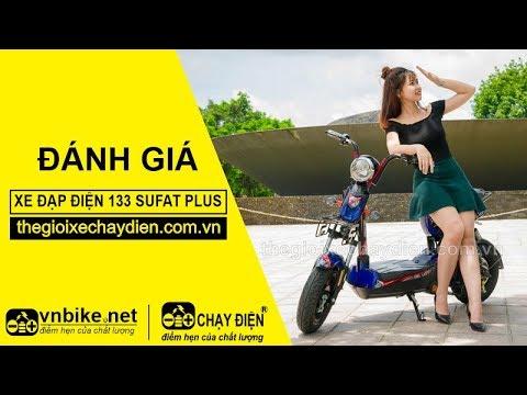Đánh giá xe đạp điện 133 Sufat Plus