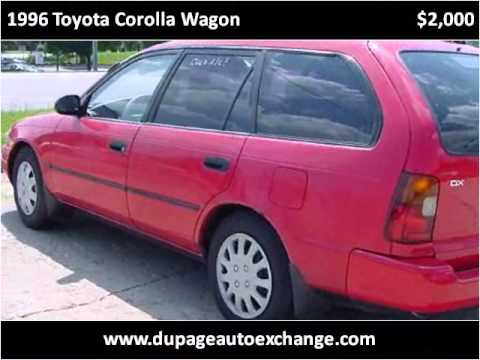 1996 toyota corolla wagon used cars chicago il youtube. Black Bedroom Furniture Sets. Home Design Ideas