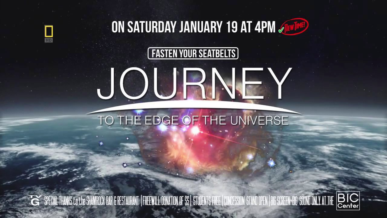 BIC Center Trailer 2019 01 19 Journey to the Edge of the Universe