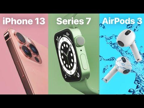 🔥 Événement Apple du 14 septembre CONFIRMÉ - iPhone 13, Apple Watch Series 7, AirPods 3 et plus !