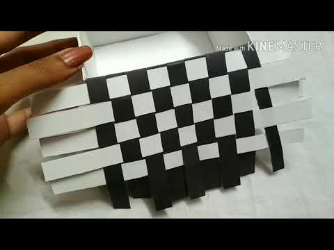 How to make chess board pattern box.by Preeti chauhan