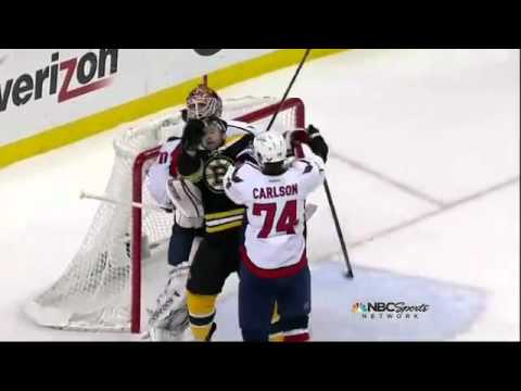 Braden Holtby plays Peverley's fake slash cool (Caps/Bruins Game 7)