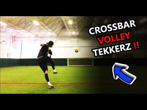 J3 Balr : CROSSBAR VOLLEY TEKKERZ CHALLENGE   Part 1   INSPIRATIONAL!!
