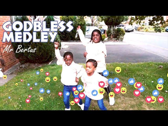 GOD BLESS MEDLEY  🔊🔊 MR BERTUS ⏯ 9TIE'S DANCEHALL RIDDIM 🇯🇲