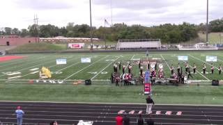 West Jessamine Marching Band - Prelims at Ryle