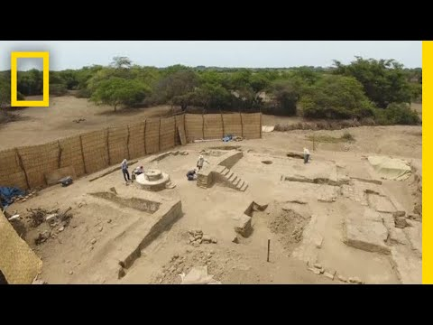 Explore an Ancient Peruvian Banquet Hall | National Geographic