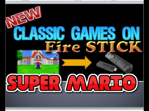 How To Play Super Mario Game In Amazon  Fire Stick   Android Games On Fire Stick Free