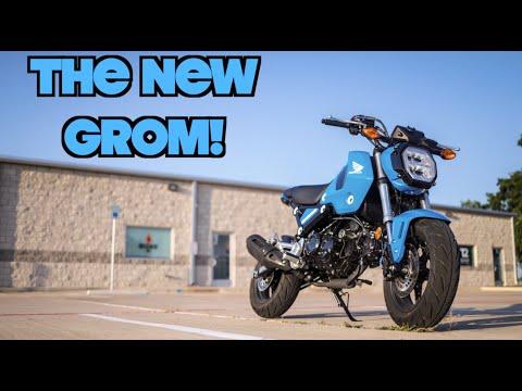 Download The Brand New 2022 Honda Grom!