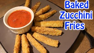 What I Ate On Sunday! Baked Zucchini Fries - Jan 11, 2015