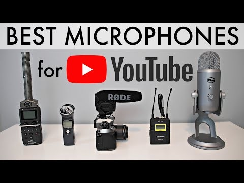 Best Microphones for YouTube: Top 5 Mics for Video!
