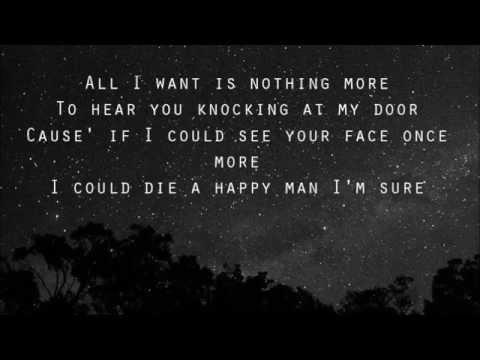 Kodaline - All I Want (with lyrics) - YouTube