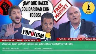 ¡Jose Luis Espert Contra Dos Zurdos Que Quieren Hacer Caridad Con Tu Bolsillo!