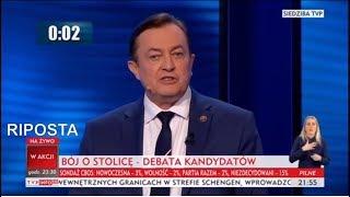Debata Warszawska Jan Potocki, odpowiedzi konstytucyjnego Prezydenta IIRP 12 10 2018