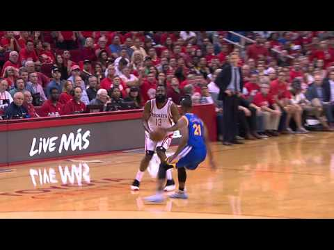 James Harden Drains the DEEP Buzzer Beater vs Golden State!