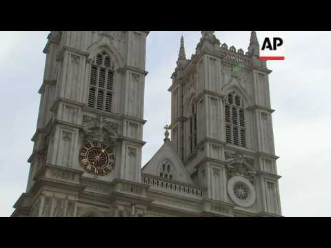 Westminster Abbey bells toll on Queen's birthday