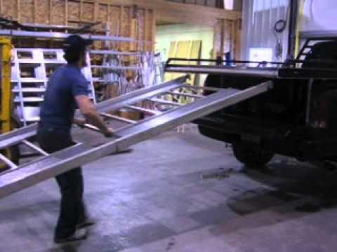 Assembly Of Full Lotus 11 Telescoping Ramp Youtube