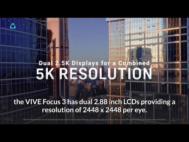 Análisis HTC Vive Focus 3