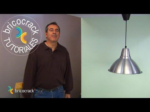 Colgar una lámpara (Bricocrack)