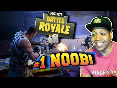 My FIRST Time Playing FORTNITE Battle ROYALE!