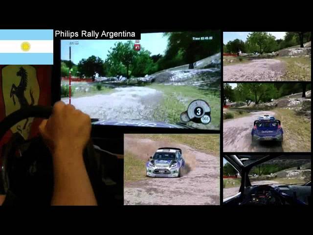 WRC 3 Argentina single stage