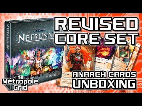 Netrunner Pre-Unboxing: Revised Core Set - Anarch Cards