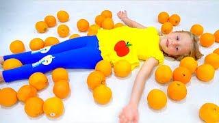 Canção para crianças sobre frutas e cores