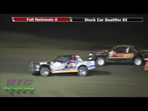 IMCA Stock Car Qualifiers Fall Nationals RPM Speedway 10 7 16