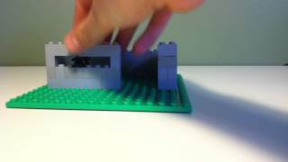 Lego WWII German Bunker Tutorial