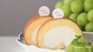 생크림 롤케이크 (Fresh Cream Roll Cak…