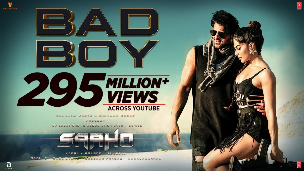 Download Saaho: Bad Boy Song | Prabhas, Jacqueline Fernandez | Badshah, Neeti Mohan