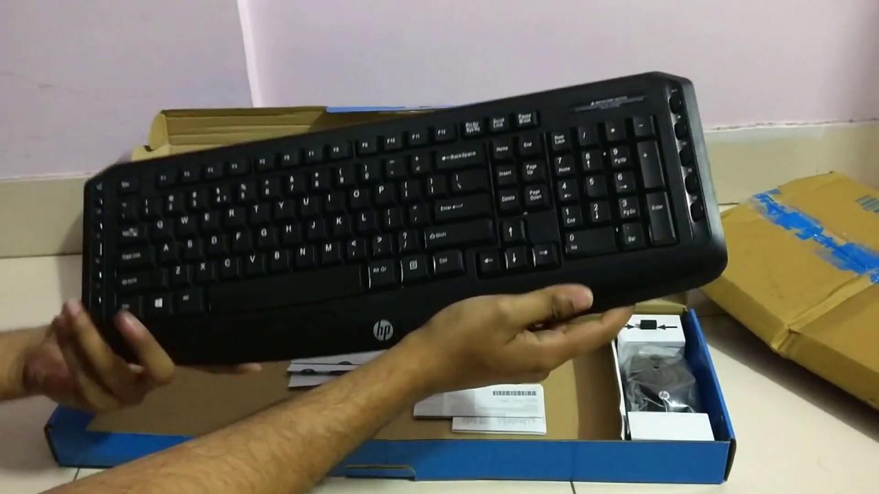 c9a542d98c7 Jun'17 - Unboxing & handson - HP Classic Desktop Wireless Multimedia  Keyboard & Mouse Combo