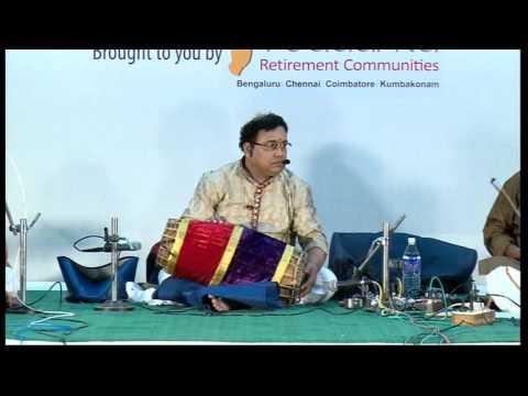 Vibrations - An Carnatic Fusion | Tiruvarur Vaidyanathan l Bharat Sangeet Utsav 2015 | Coimbatore