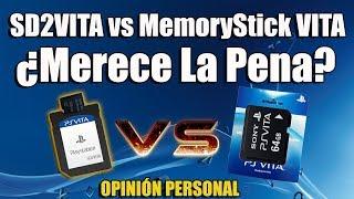 MicroSd PSvita vs Memoria Oficial ¿Merece la Pena? OPINION PERSONAL