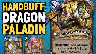 ENDLESS BUFFS! Dragon Handbuff Paladin is Actually Good!? | Descent of Dragons