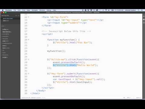 4 JQuery Basic Functions Refactoring