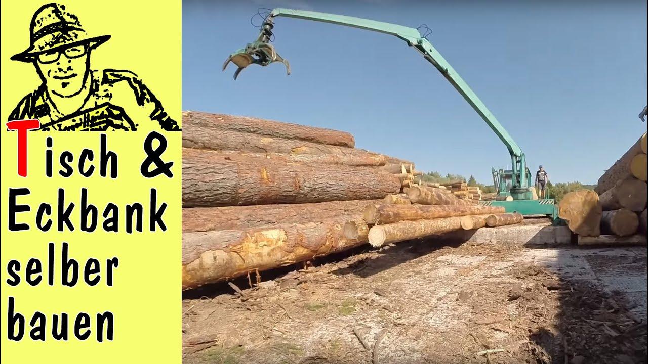 eckbank selber bauen, selber bauen: tisch und eckbank aus douglasie - youtube, Design ideen