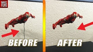 How To Make Action Figures FLY Tutorial for Stop Motion