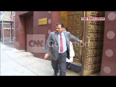 NY:EXCLUSIVE: INDIAN DIPLOMAT LEAVING MISSION