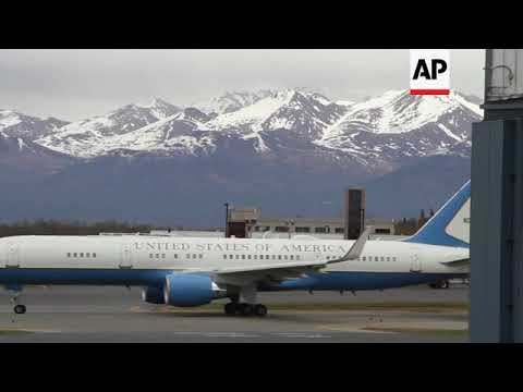 Plane carrying freed detainees stops to refuel in Alaska