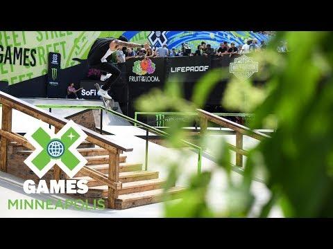 Nyjah Huston wins Men's Skateboard Street gold | X Games Minneapolis 2018